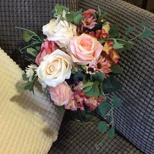 Other - Faux flower bouquets